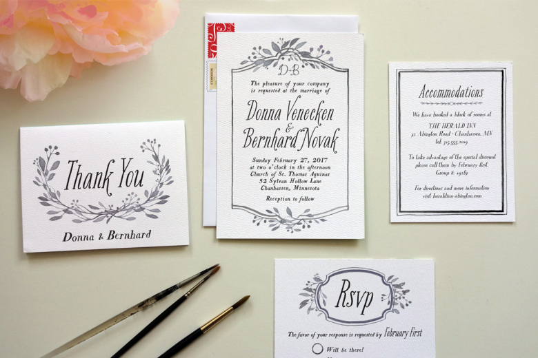types of invitations
