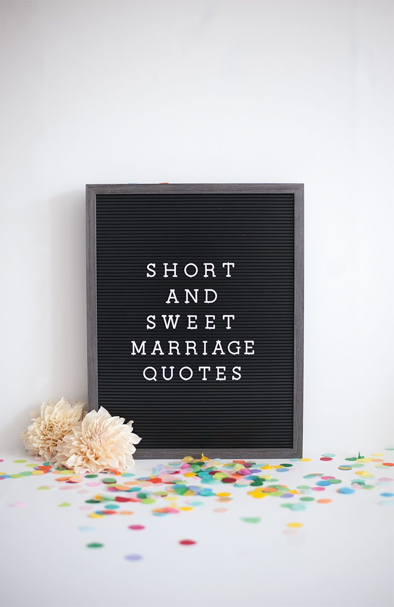 Marriage Quotes Perfect For Your Wedding A Practical Wedding