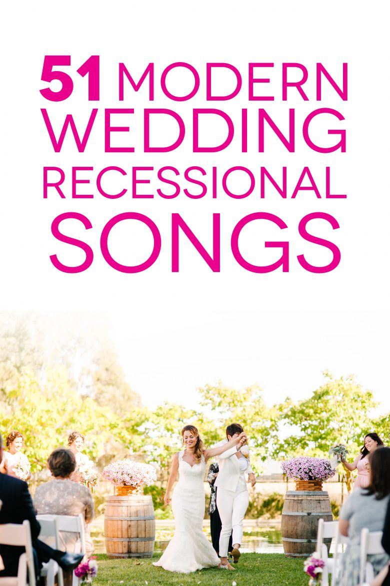 Wedding Recessional Songs To Help You Dance Into The Sunset